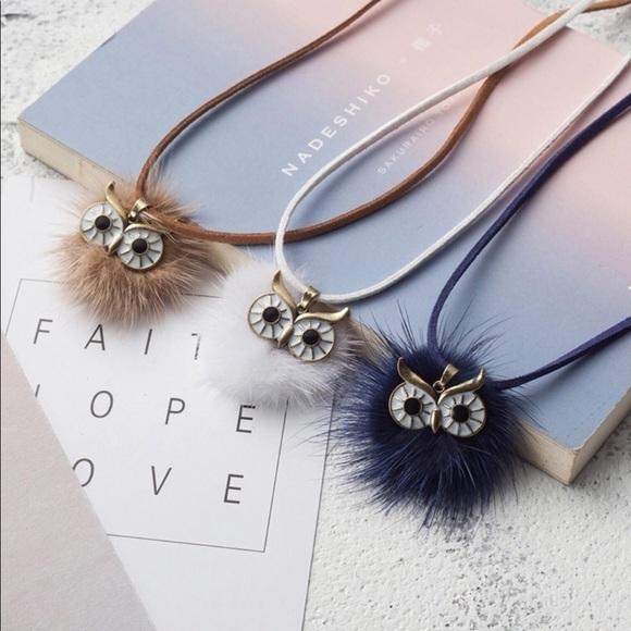 Atelier Sona Jewelry - ✨New Item-Owl Pom Pom Necklace